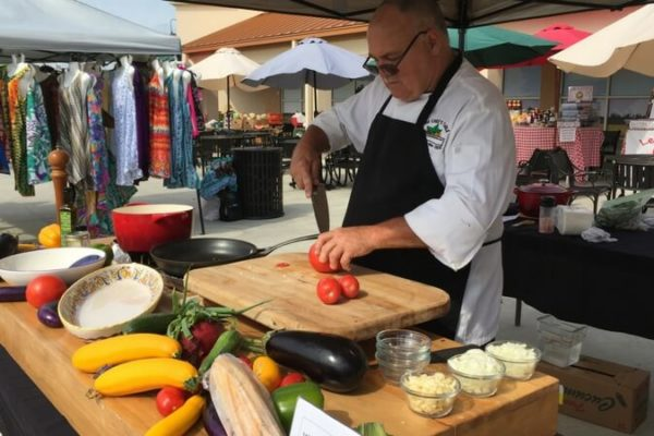Farmers Market Food Demo- Chef Randal White