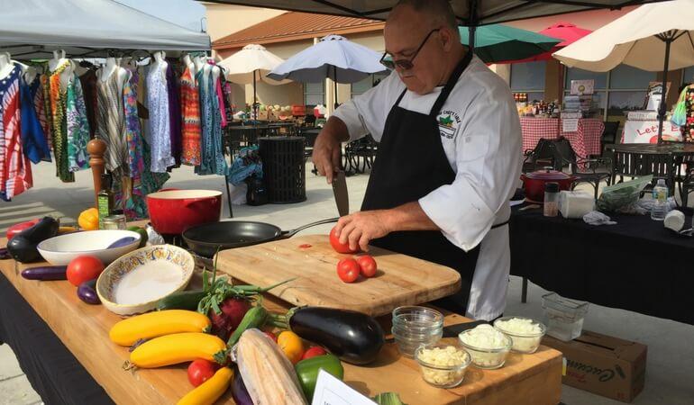 Farmers Market Food Demo- Chef Randal White