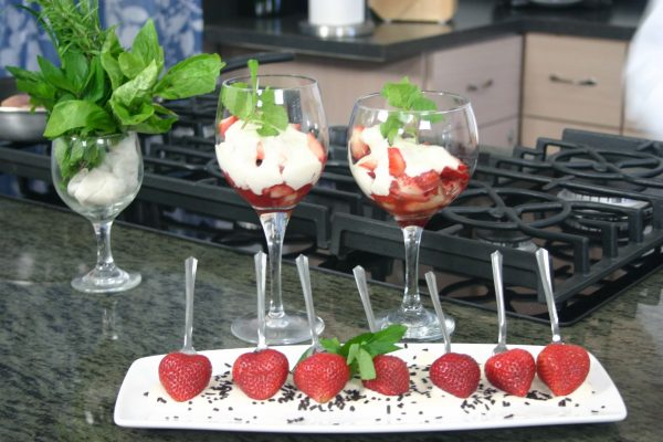 Strawberry Romanoff
