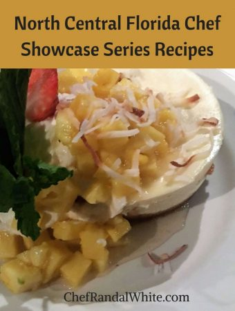 North Central Florida Chef Showcase Series Recipes